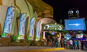 Dady o nightclub disco Cancun
